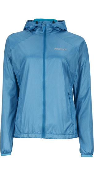 Marmot W's Ether DriClime Hoody Blue Sea
